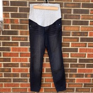 Thyme Maternity Jeans Faded Black Size XS